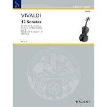 VIVALDI A. 12 Sonatas Op.2 (7-12)