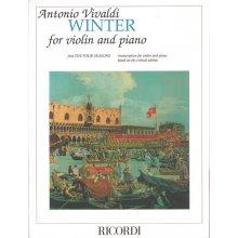 """VIVALDI A. da """"Quattro Stagioni"""" Inverno +CD"""