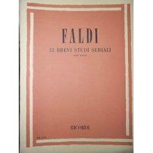 FALDI 12 Brevi Studi Seriali per Oboe