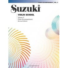 SUZUKI Violin School Vol.3 Piano Accompaniment