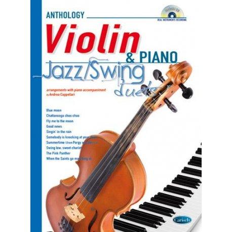 CAPPELLARI A. Jazz-Swing duets Violin & Piano