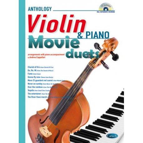 CAPPELLARI A. Movie Duets Violin & Piano