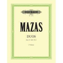 MAZAS Duos Op.39 Heft 1