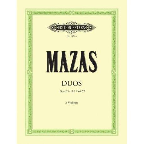 MAZAS Duos Op.39 Heft 2