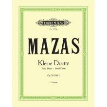 MAZAS Kleine Duette Op.38 Heft 1