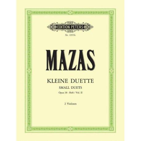 MAZAS Kleine Duette Op.38 Heft 2