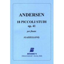 ANDERSEN 18 Piccoli Studi Op.41 (Gazzelloni)