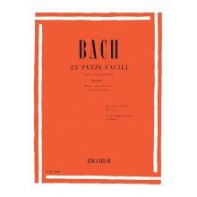 BACH J.S. 23 Pezzi Facili per pianoforte (Mugellini) +CD