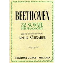 BEETHOVEN L.van 32 Sonate per Pianoforte vol.III (Schnabel)