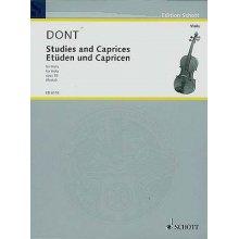 DONT J. Etuden und Capricen Op.35