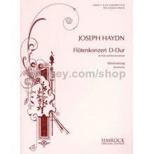 HAYDN F.J. Flotenkonzert D-Dur (Klavierauszug)