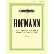 HOFMANN R. Die ersten Studien fur Viola Op.86