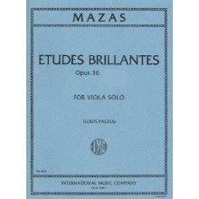 MAZAS J.M. Etudes Brillantes Op.36