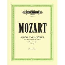 MOZART W.A. Zwolf Variationen KV265