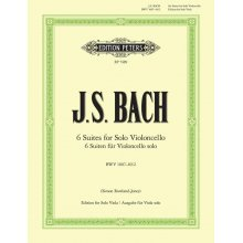 BACH J.S. 6 suites for Solo Viola BWV 1007-1012