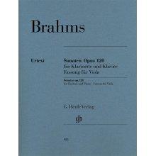 BRAHMS J. Sonaten Op.120 Viola und Klavier