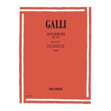 GALLI R. 30 Esercizi Op.100 per Flauto