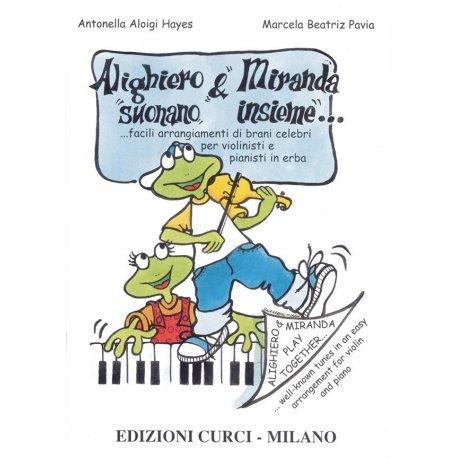 ALOIGI HAYES Alighiero e Miranda suonano insieme