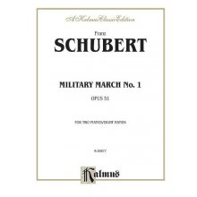 SCHUBERT F. Military March N.1 Op.1 for 2 pianos, 8 hands