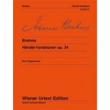 BRAHMS J. Handel-Variationen Op.24