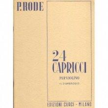 RODE P. 24 Capricci per Violino (L.D'Ambrosio)