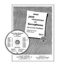 NIEHAUS L. Jazz Conception for Saxophone Vol.2 +CD