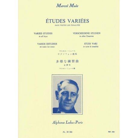 MULE M. Etudes Variées dans toutes les tonalités