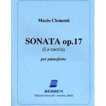 CLEMENTI M. Sonata Op.17 La Caccia