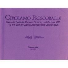 FRESCOBALDI G. Il Primo libro di Capricci, Ricercari e Canzoni - per Organo