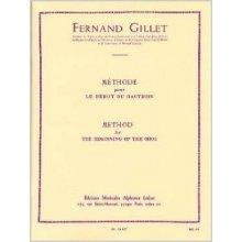Gillet Méthode pour le début du hautbois