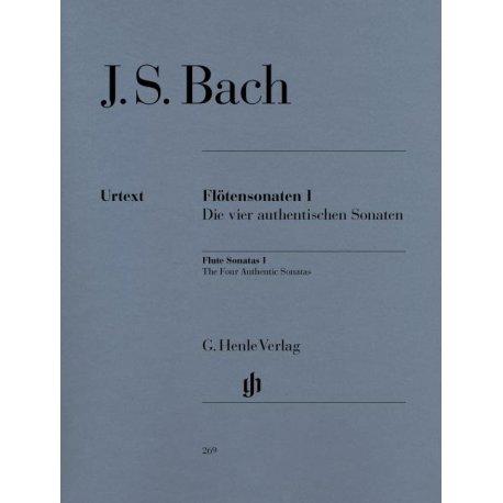 BACH J.S. Flotensonaten Band I BWV 1030, 1032, 1034, 1035