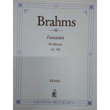 BRAHMS J. Fantasien fur Klavier op.116