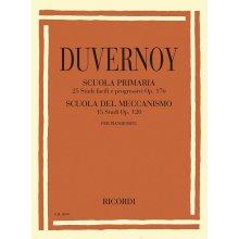 DUVERNOY J. Scuola primaria op.176 & Scuola del meccanismo op.120