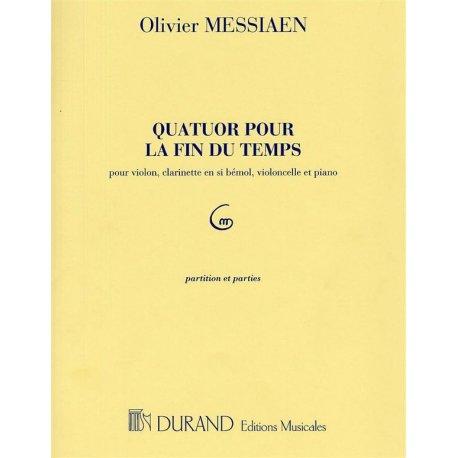 MESSIAEN O. Quatour pour la fin du temps (violino, clarinetto, violoncello, piano)