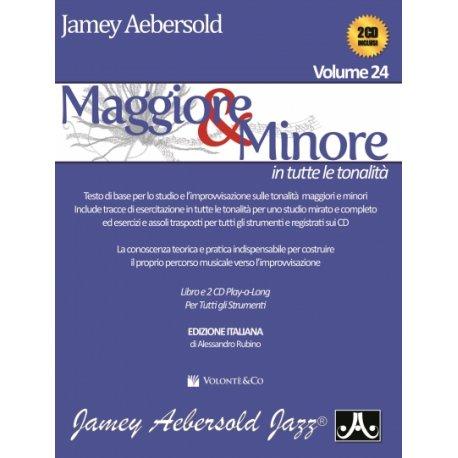 AEBERSOLD J. Vol.24 Maggiore & Minore