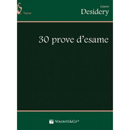 DESIDERY G. 30 prove d'esame