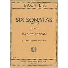 BACH J.S. Six Sonatas (Vol.2) S.1033-35