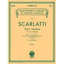 SCARLATTI D. 60 Sonatas Vol.I