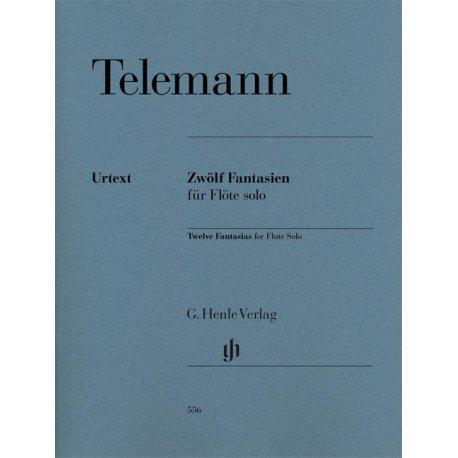 TELEMANN G.P. Zwölf Fantasien für Flöte solo