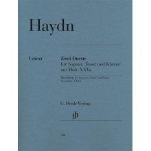 HAYDN F.J. Zwei Duette Sopran, Tenor und Klavier