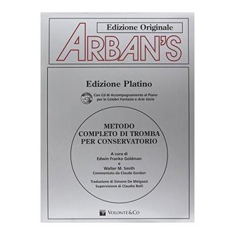 ARBAN Metodo completo di tromba per conservatorio