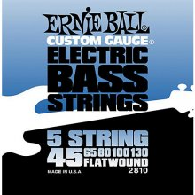 Ernie Ball 2810 Flatwound (5 corde)