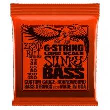 Ernie Ball 2838 Long Scale Slinky (6 corde)