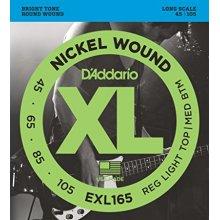 D'Addario EXL165 45/105