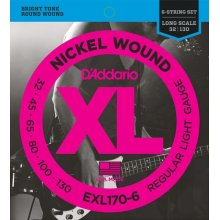 D'Addario EXL170-6 Regular Light