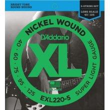 D'Addario EXL220-5 40/125