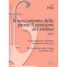 POLO E. Il meccanismo delle prime 5 posizioni del violino op.7