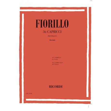 FIORILLO F. 36 Capricci per Violino (Borciani)