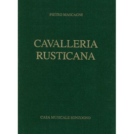MASCAGNI P. Cavalleria Rusticana (Canto e Piano)