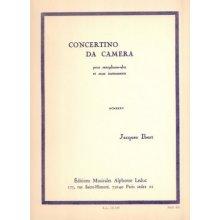 IBERT J. concertino da Camera pour saxophone-alto et onze instruments
